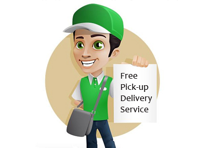 Free Pick Up-Delivery Service